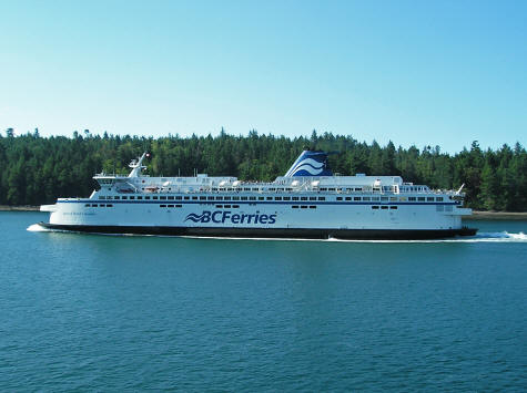BC Ferries from Vancouver