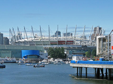 BC Place Stadium - Home to the Vancouver Whitecaps