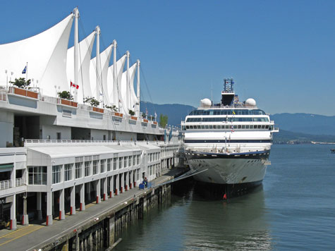 Cruises from Vancouver to Alaska