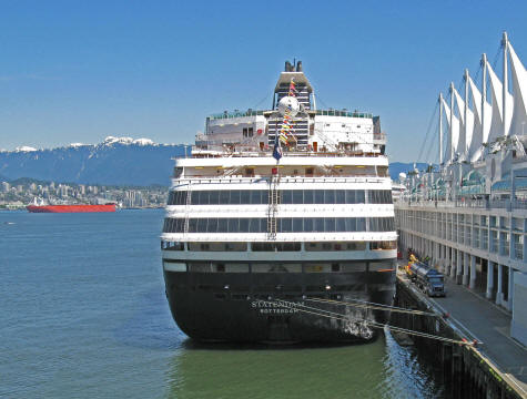 Cruise Schedule from Vancouver Canada