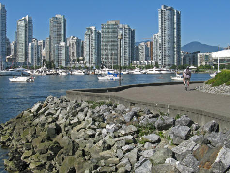 False Creek in Vancouver BC Canada