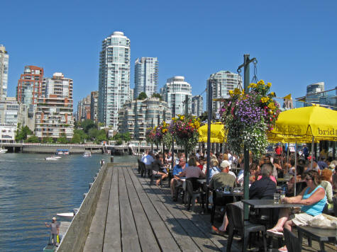 Granville Island In Vancouver Popular Tourist Destination