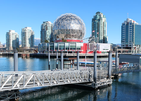 Science World in Vancouver Canada