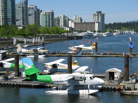 Seaplane Terminal in Vancouver Canada
