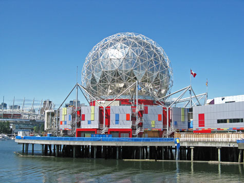 City Landmarks in Vancouver Canada